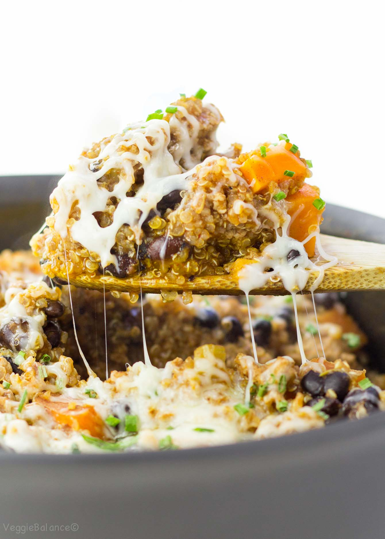 One Pan Quinoa Enchilada Gluten Free, Dairy Free - Veggiebalance.com