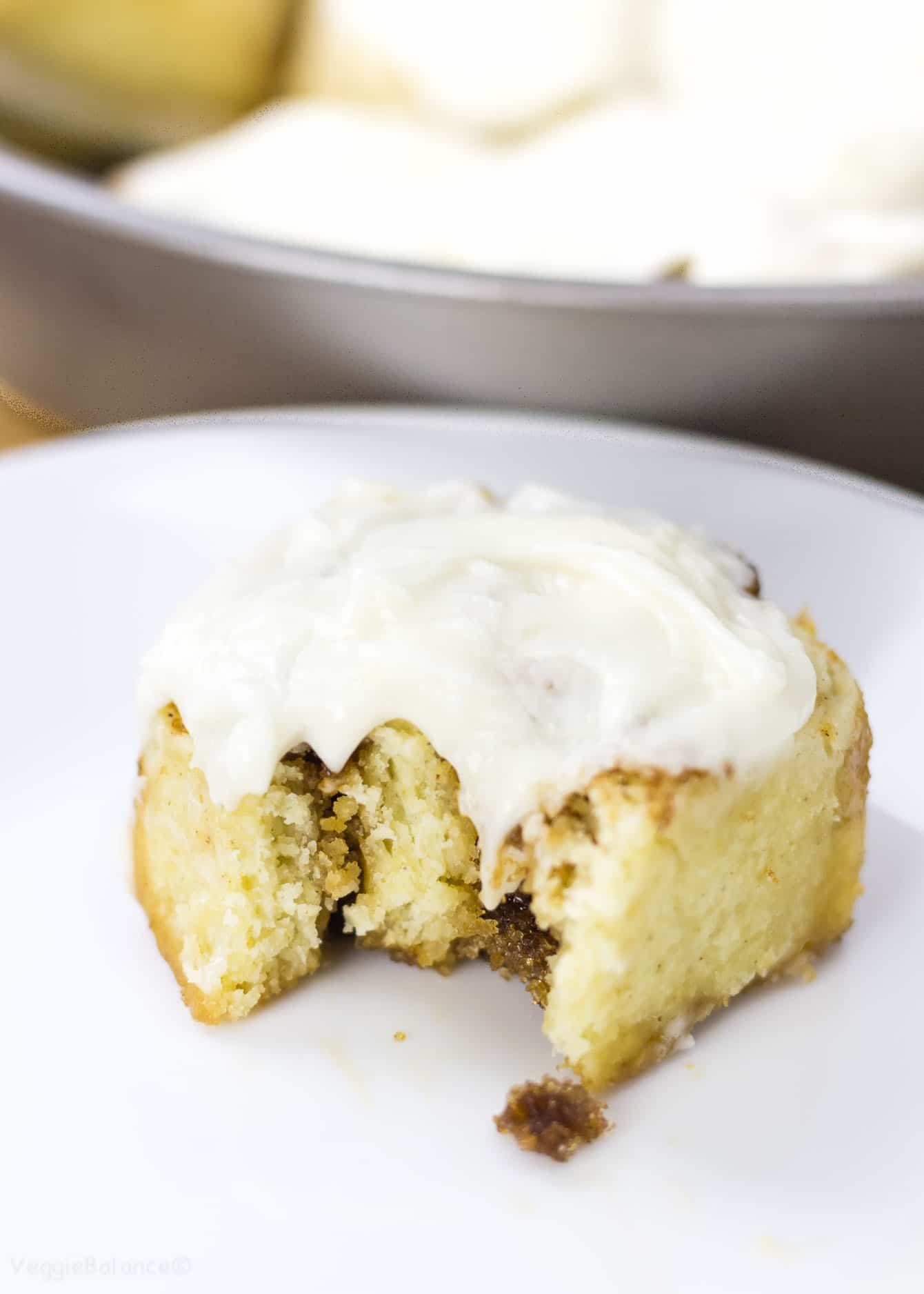 Gluten Free Cinnamon rolls - Veggiebalance.com