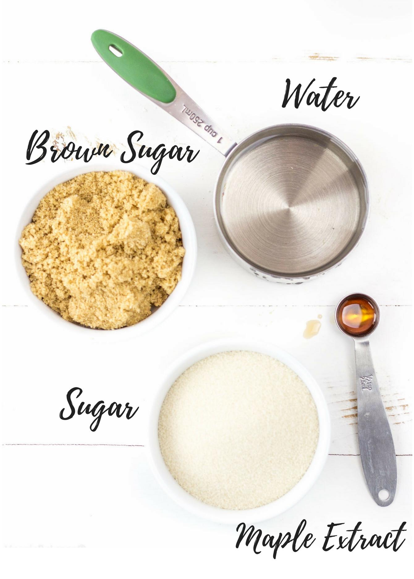 Homemade Maple Syrup recipe Gluten Free, Dairy Free, Vegan - Veggiebalance.com