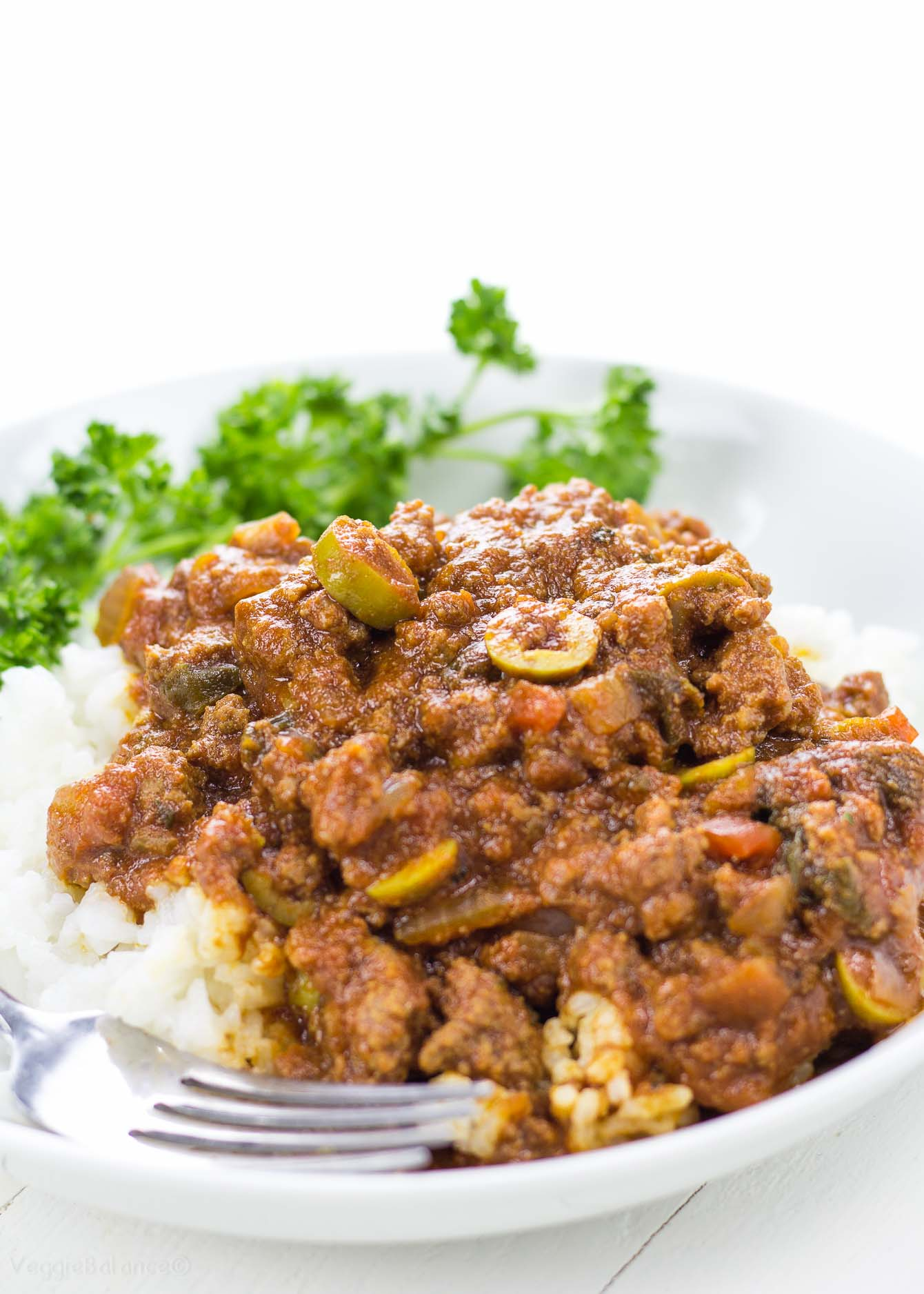 Picadillo Mexican Beef recipe - Veggiebalance.com