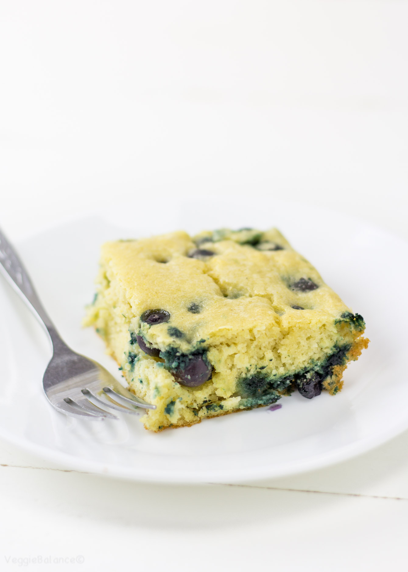 Blueberry Pancake Casserole recipe Gluten Free - Veggiebalance.com