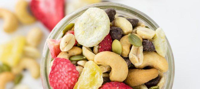 Healthy Banana Split Trail Mix