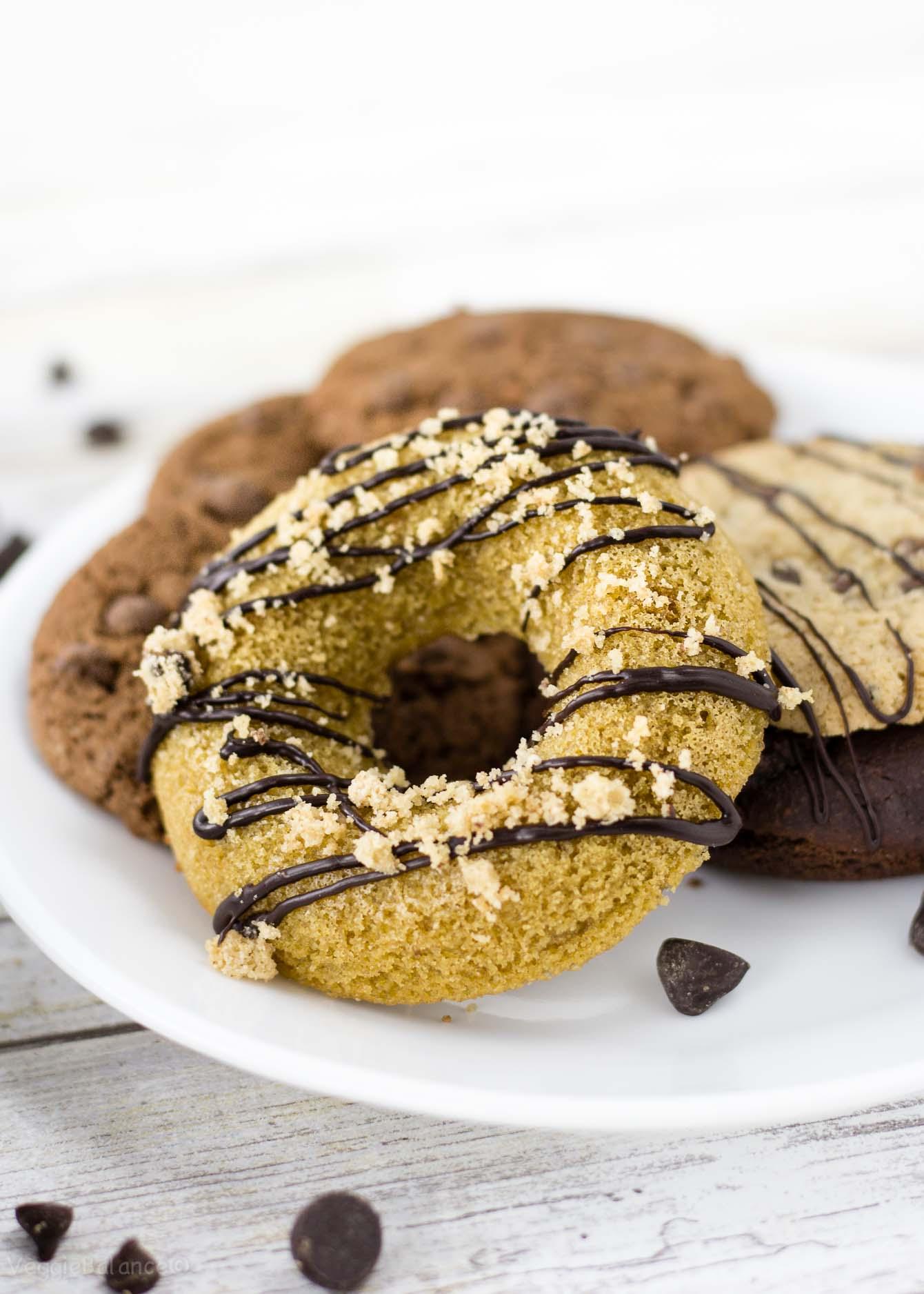 Gluten Free Donuts recipe - Veggiebalance.com