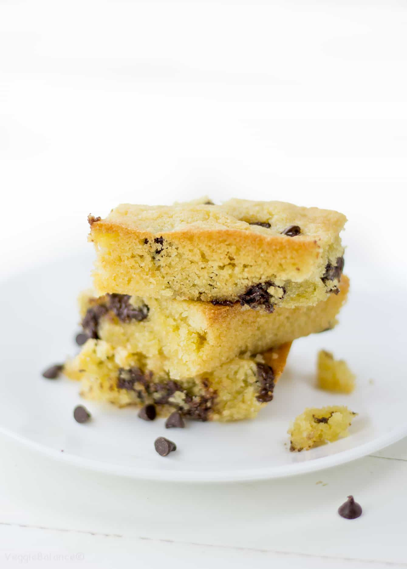 Gluten Free Chocolate Chip Cookie Cake Directions