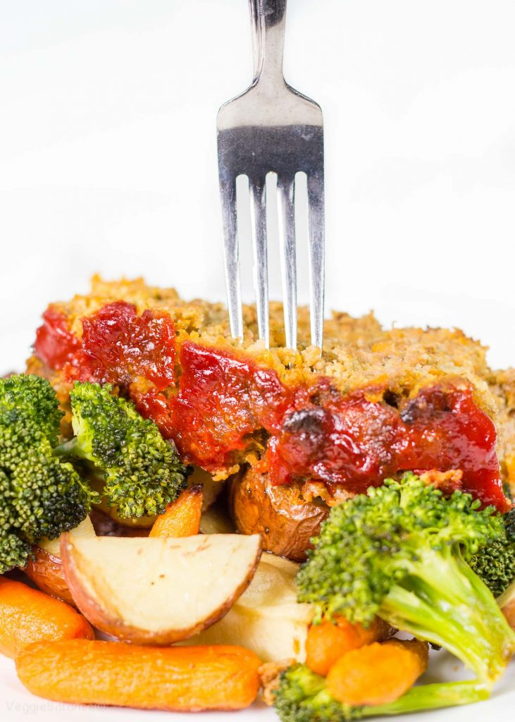 How to Make Meatloaf on Sheet Pan