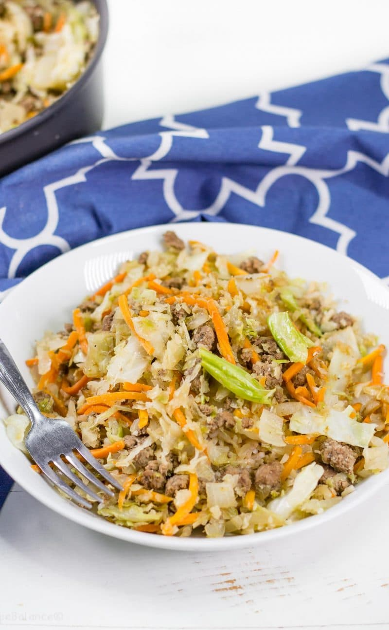 Egg Roll in a Bowl (Low-Carb, Gluten-Free)