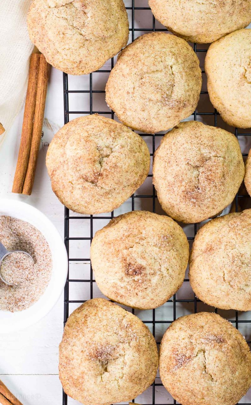 Healthier Snickerdoodle Cookies Recipe