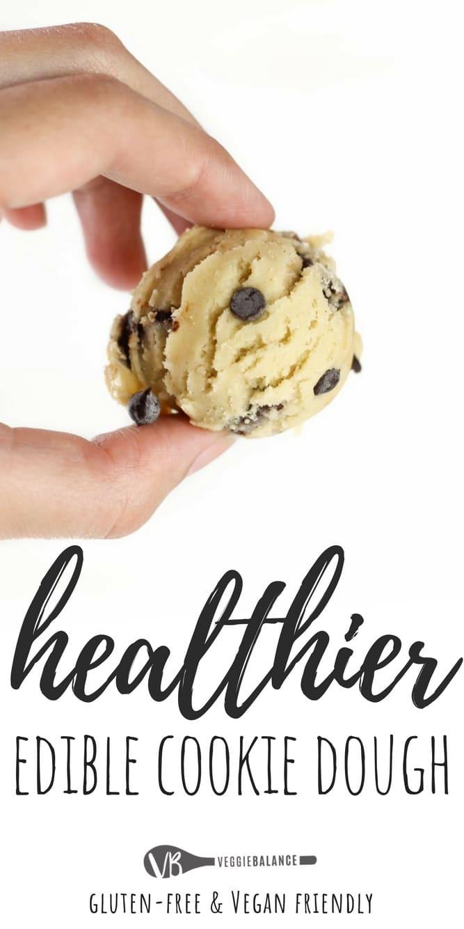 Made 4 Ways Edible Cookie Dough Recipe Gluten Free Recipes