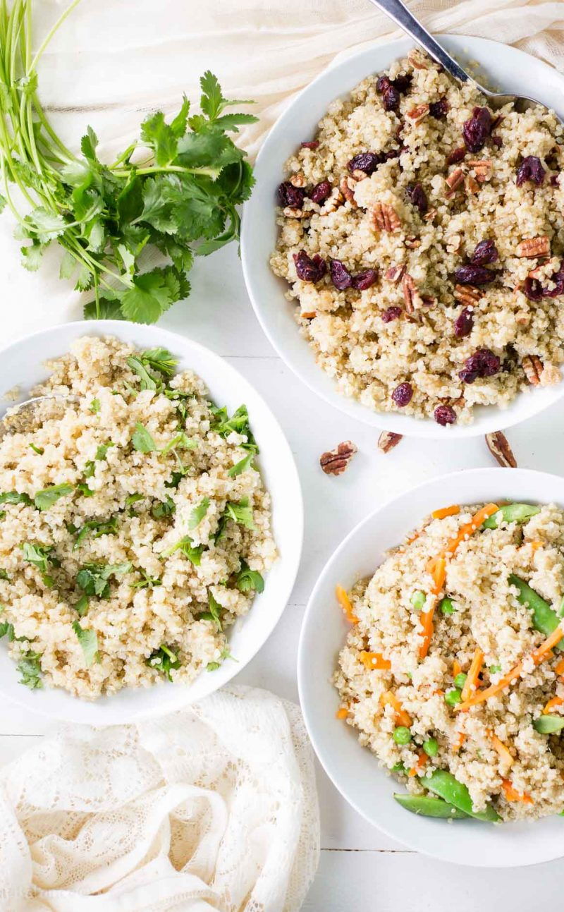 How to Make the Best Quinoa ( 7 recipes to make with quinoa)