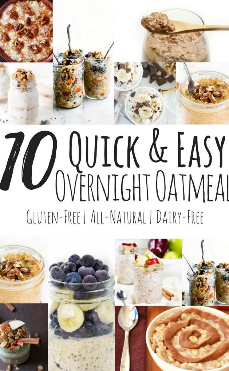 10 Best Overnight Oatmeal Recipes