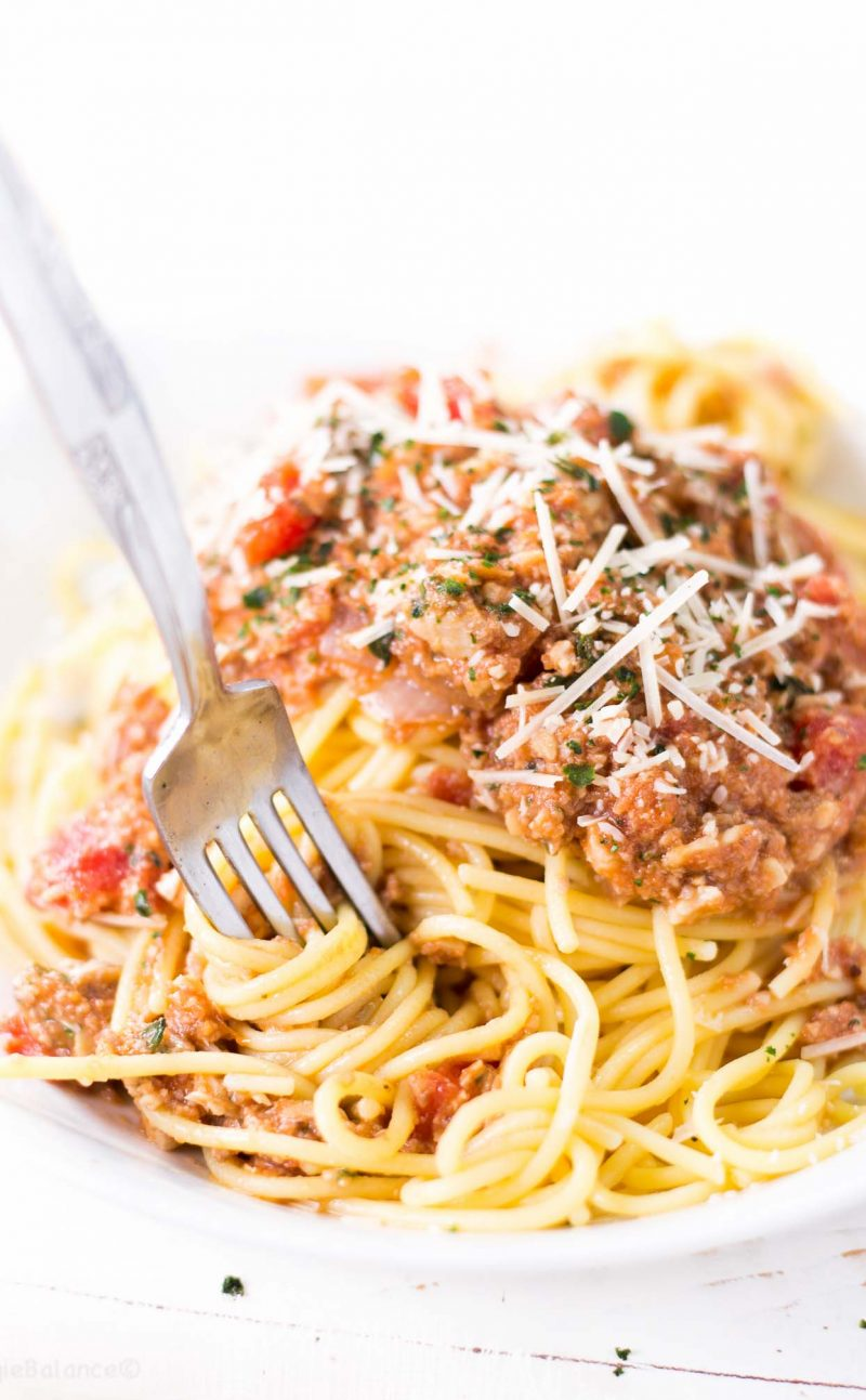 Easy Homemade Spaghetti Sauce Recipe