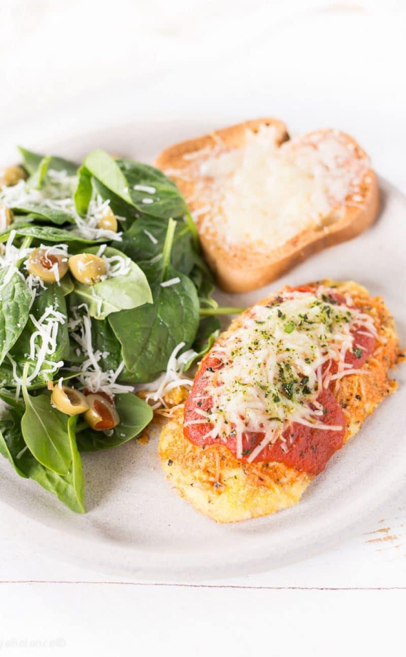 Gluten-Free Chicken Parmesan