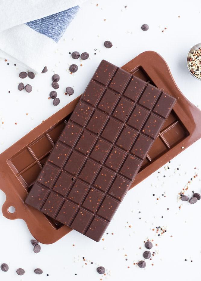Chocolate Quinoa Bark (Gluten-Free Chocolate Recipe)