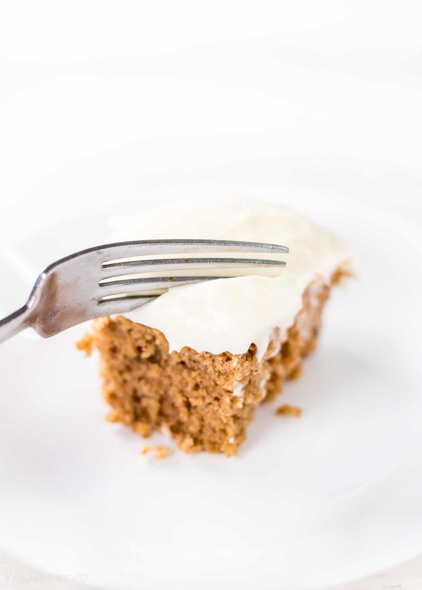 Applesauce Spice Cake Recipe with Cream Cheese Frosting