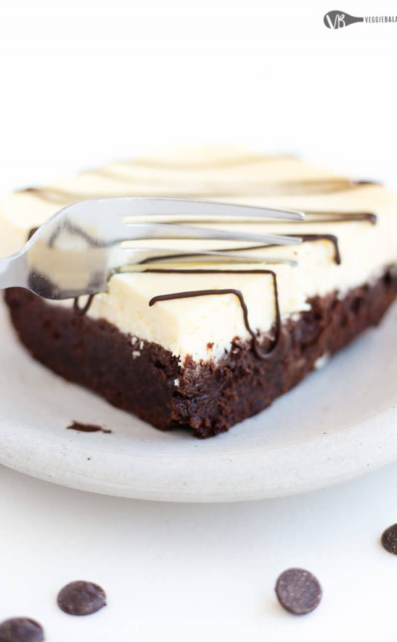 Cheesecake Topped Brownies Recipe