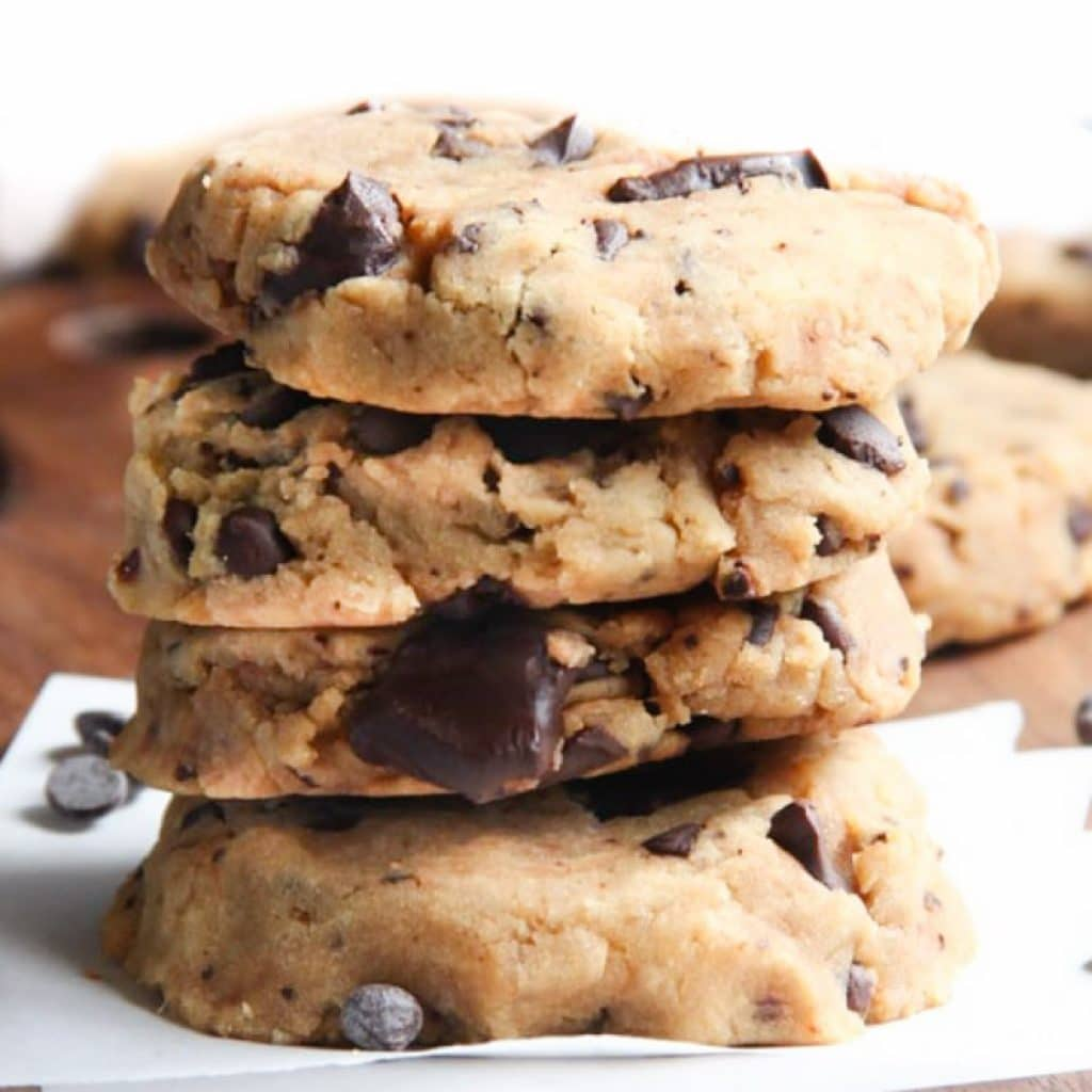Vegan Chocolate Chip Cookies