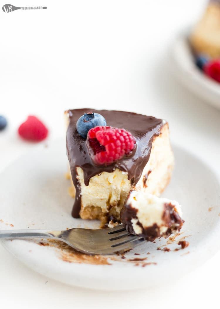 Gluten Free Cheesecake - Veggie Balance
