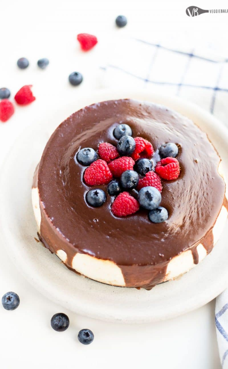 Simple Gluten Free Cheesecake