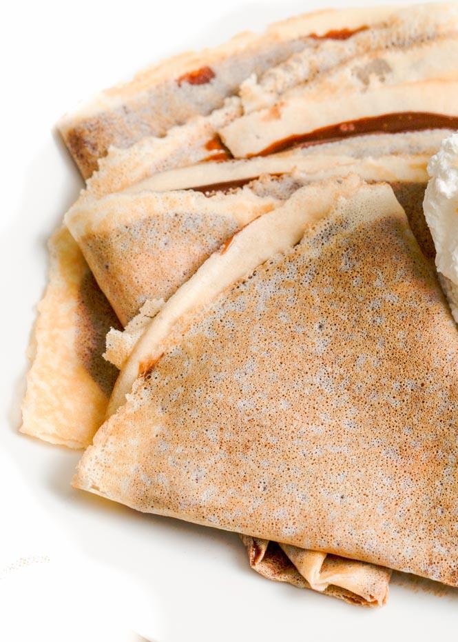 Gluten free crepes - Veggie Balance