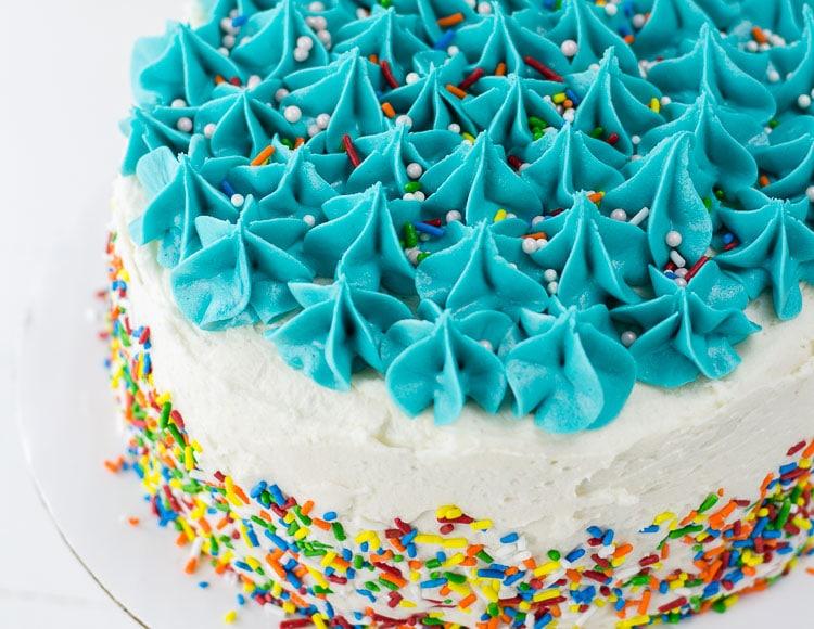 Gluten Free Birthday Cake