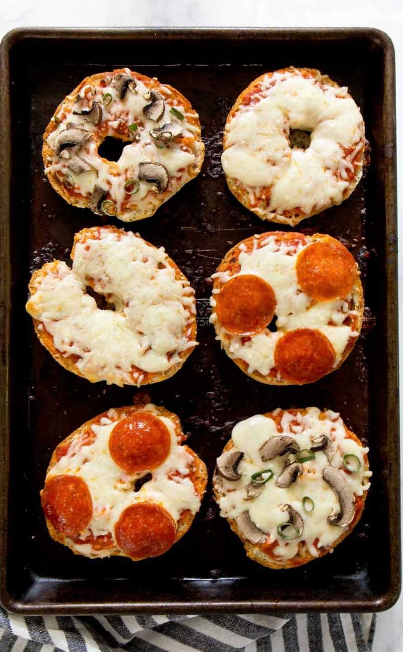 Gluten Free Pizza Bagels