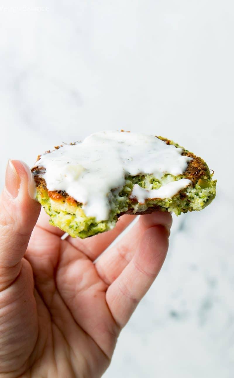 Broccoli Fritters Recipe